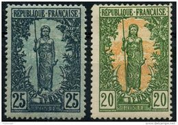 Congo (1900) N 33 à 34 * (charniere) - Ongebruikt
