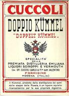 """8937"""" CUCCOLI-DOPPIO KÜMMEL-PREMIATA DISTILLERIA EMILIANA CAV. UFF. CUCCOLI CARLO-FORMIGINE """"- ETICHETTA ORIGINALE - Other"""