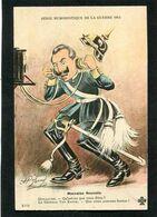 CPA - Illustration Jarry - Série Humoristique De La Guerre 1914 - Guillaume - Mauvaise Nouvelle - Weltkrieg 1914-18