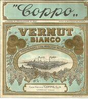 """8938"""" COPPO-VERMUT BIANCO-CASA VINICOLA COPPO S.p.A.-CANELLI """"- ETICHETTA ORIGINALE - Other"""