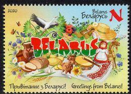 Belarus - 2020 - Greetings From Belarus - Mint Stamp - Belarus