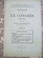 Gent Annales 1907 Principaux Hotels De Gand Et Prix 92 Blz - 1901-1940