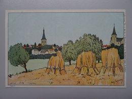 """Carte Postale Amédée Lynen """"De-ci De-là"""" N° 53 Jodoigne Préfauché-les-deux-églises - Lynen, Amédée-Ernest"""