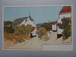 """Carte Postale Amédée Lynen """"De-ci De-là"""" N° 57 Baisy-Thy Route De Villers à Genappe - Lynen, Amédée-Ernest"""
