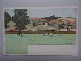 """Carte Postale Amédée Lynen """"De-ci De-là"""" N° 62 Basse-Wavre - Lynen, Amédée-Ernest"""