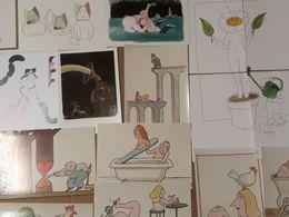 Lot De Cartes Postales De Tomi Ungerer - Sin Clasificación