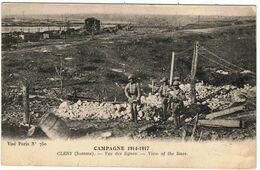 Cléry / Vue Des Lignes / Campagne 1914-1917 - Autres Communes