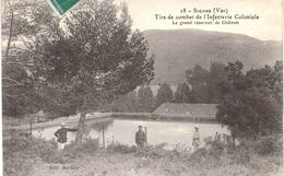 Carte POSTALE Ancienne De  SIGNES - Tirs De Combat De L'Infanterie Coloniale à CHIBRON, Grand Réservoir - Signes