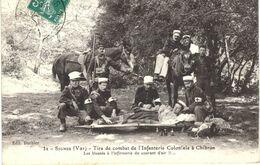 Carte POSTALE Ancienne De  SIGNES - Tirs De Combat De L'Infanterie Coloniale à CHIBRON, Infirmerie Du Courant D'Air - Signes