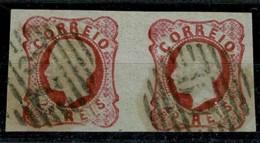 "Portugal, 1862/4, # 16, Mafra ""28"", Used - Usado"