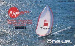 Télécarte JAPON / 110-112648 - BATEAU VOILIER - AMERICA'S CHALLENGE CUP ** - SAILING SHIP JAPAN Phonecard - 483 - Schiffe