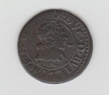 DUCHE DE BOUILLON - DOUBLE DENIER TOURNOIS 1635 - FREDERIC MAURICE DE LA TOUR D'AUVERGNE - CUIVRE - België