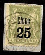 Chine Française YT N° 18 Oblitéré. B/TB. A Saisir! - Usati