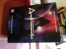 Dvd  Integrale  Des 5 Saisons Andromeda 110 Episodes Mais En Anglais Pas De Vf Ou Vostf - TV-Reeksen En Programma's