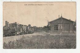 CHATILLON SUR SEICHE - LA GARE - TRAIN - 35 - Andere Gemeenten