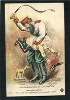 CPA - Illustration Jarry - Série Humoristique De La Guerre 1914 - François Joseph - Leçon Bien Méritée - War 1914-18