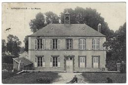 LONGUEVILLE (77) - La Mairie - Au Dos PUB CHOCOLAT LOUIT - Other Municipalities