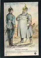 CPA - Illustration Jarry - Série Humoristique De La Guerre 1914 - Concurrence Commerciale - Weltkrieg 1914-18