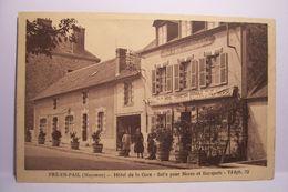 PRE-EN-PAIL ( Mayenne )  -  Hotel De La Gare - Pre En Pail