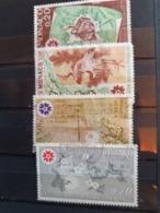 Monaco 1970  Yt  822/5  Expo Universel Osaka   Oblitere - Used Stamps