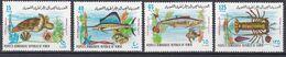 Südjemen (Volksrepublik) 1972 - Mi.Nr. 130 - 133 - Postfrisch MNH - Tiere Animals Fische Fishes - Fishes