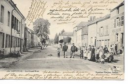 08 GIVONNE La Grand Rue Animée N° 186  Edt Suzaine Pierson ...JP - Otros Municipios