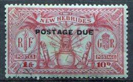 Nouvelles Hébrides        Taxe     N° 10 * - Segnatasse