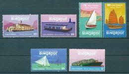 World Stamp Exhibition SINGAPORE '15 - Bateaux