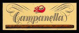 BOITE En Carton (vide) A CIGARES CAMPANELLA - Boites à Tabac Vides