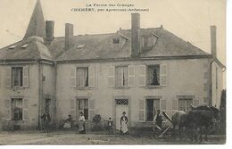 08 Rare CHEHERY La Ferme Des Granges Belle Animation  1912    .JP - Otros Municipios