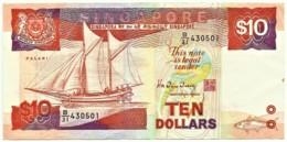 Singapore - 10 Dollars - ND ( 1988 ) - Pick: 20 - Serie B/31 - Singapore