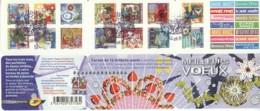 BC 493 Y.T. Autoadhésif Carnet France Oblitéré 5.11.2010 Meilleurs Voeux - Markenheftchen