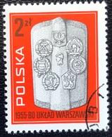 Polska - Poland - P2/20 - (°)used - 1980 - Michel Nr. 2671 - Warschaupact - 1944-.... Republic
