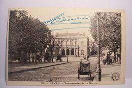 LAVAL   - Promenades De La Mairie - Cachet MILITARIA - Hopital Auxiliaire N°19 - Laval