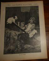 La France Illustrée. N°1839. 26 Février 1910. La Fontaine. Les Petites Soeurs Des Pauvres à Vannes. - 1900 - 1949