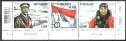 Monaco 2008 Unif.2668/70 **/MNH VF - Ongebruikt