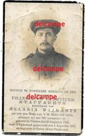 Oorlog Guerre Frans Stappaerts Tielen Soldaat Gesneuveld Te Kaaskerke Diksmuide Aug 1917 Begraven Te Oeren - Images Religieuses
