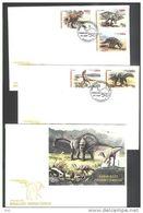 Cuba 2005 3 FDC - Prehistorics