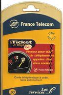 TICKET TELEPHONE-100F-31/12/2000-COMPTEUR--CODE N°C048092L-NEUF-sous Encart Scéllé De Vente-TBE - Frankreich