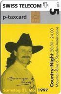 Switzerland - Swisscom (Chip) - Privates - Marstetter Radsporttage, Cycling Race, 02.1997, 5Fr, Used - Suisse