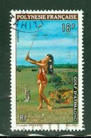 Golf; Polynésie Française / French Polynesia; Scott # 275; Usagé (3407) - Polinesia Francese