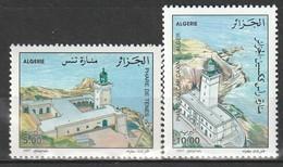 ALGERIE - N°1145/6 ** (1997) Phares - Algerien (1962-...)