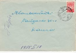 Lithuania Local Cover From Smalininkai To Kaunas1955 #21899 - Lituanie