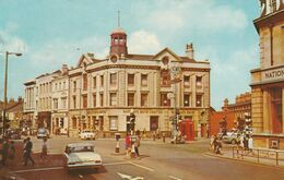 CPM -  RIBY SQUARE , GRIMSBY - Angleterre