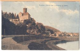 Schloss Dehrn Bei Limburg (Runkel/Lahn) Feldpost 1918) - Limburg