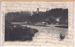 Gruss Aus Dehrn (Limburg, Runkel/Lahn) 1903 - Limburg