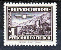 Andorre Espagnol PA 1 Neuf ** MNH Sin Charmela Cote 30 - Ungebraucht