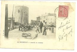 17 CHARENTE MARITIME LA ROCHELLE ARRIVEE POISSONS 1903 ANIMATION JOLI PLAN A VOIR - La Rochelle