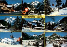 Kandersteg - Berner Oberland - 9 Bilder (30600) * 3. 2. 1983 - BE Berne