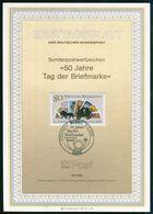 BRD - 1986 ETB 23/1986 - Mi 1300 - 80Pf           Tag Der Briefmarke 86 - [7] República Federal